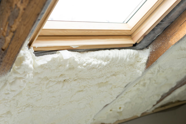 spray foam insulation salem